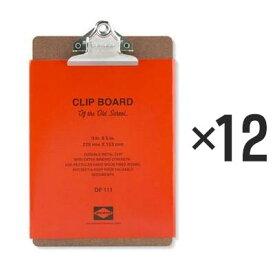 【12個セット】ペンコ クリップボード オールドスクール A5 DP111 クリップホルダー クリップ バインダー おしゃれ かっこいい 文具 タテ 縦 ファイル アメリカ HIGHTIDE ハイタイド