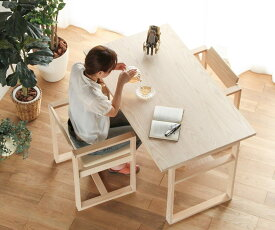 【無垢 ダイニングテーブル】旭川家具 MUKU工房オリジナル dandy table(ダンディ・テーブル)