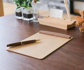 旭川クラフト 工房 ペッカー 木製バインダー