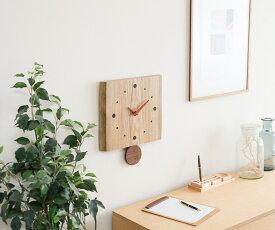 旭川クラフト 工房ペッカー F12 耳付振り子時計