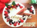 【糖質制限・低糖質スイーツ】ラズベリームースのクリスマスケーキ☆5号(15cm)糖質制限中の方や、ダイエット中の方に…
