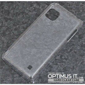 【超軽量】 スマホケース クリアケース 送料無料 【クール】 Optimus it L-05E L-05Eカバー ハードケース カバー ケース スマートフォン・タブレット スマートフォン・携帯電話用アクセサリー ケース・カバー
