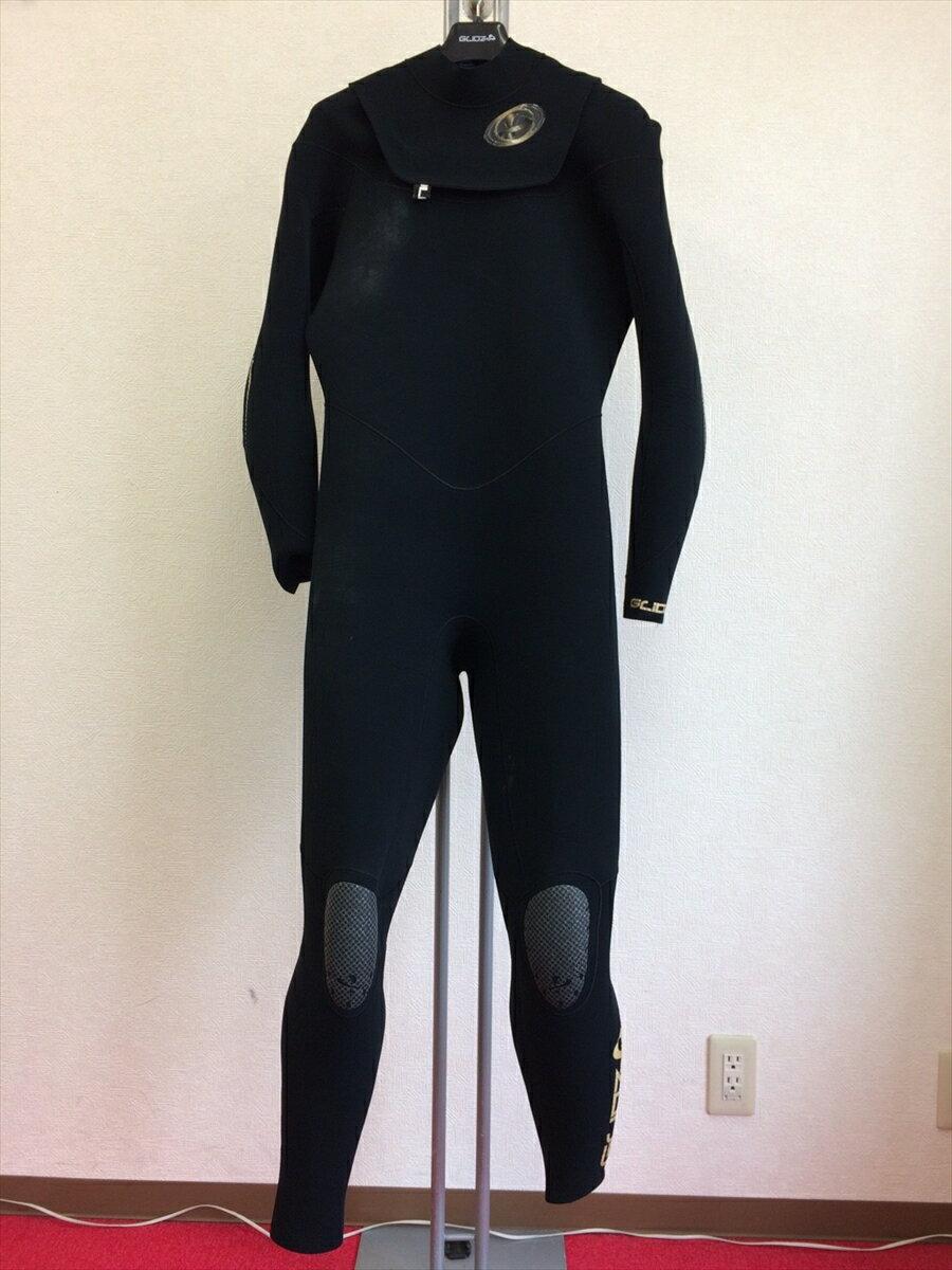 中古ウエットスーツ/フラップジップフルスーツ/サイズ《メンズLB》/グライズウェットスーツ/サーフィン