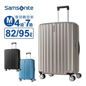 【30%OFF】スーツケース Mサイズ サムソナイト Samsonite ENOW エナウ スピナー69 ハードケース 容量拡張 158cm以内 超軽量 キャリーケース キャリーバッグ 旅行 トラベル 出張 Enow
