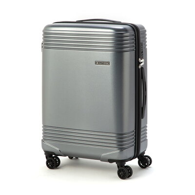 スーツケースキャリーバッグベーシックキャリーMサイズ無料預け入れ受託サイズ耐衝撃性素材4輪ダブルキャスター軽量大容量