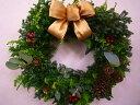 フレッシュXmasリース30【直径約30cm】 【クリスマスリース】【フレッシュリース】【3個まで同梱可】【RCP】【お歳暮…