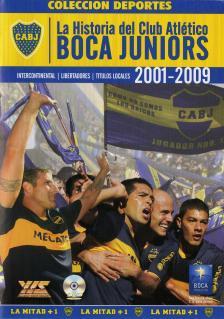 【国内未発売】ボカジュニアーズの歴史 2001-2009 DVD【Boca Juniors/サッカー/アルゼンチンリーグ/マラドーナ/リケルメ】お取り寄せ可能ARG01