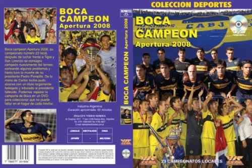 ボカジュニアーズ アペルトゥーラ2008 優勝記念DVD【サッカー/アルゼンチンリーグ/BOCA/マラドーナ】