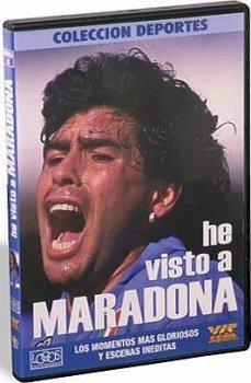 """ディエゴ・マラドーナ DVD """"HE VISTO A MARADONA""""【サッカー/アルゼンチン代表/ナポリ/ディエゴ】 CDA33"""