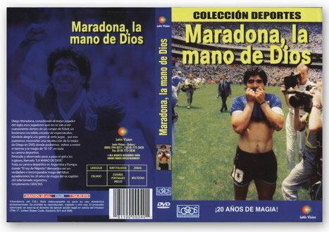 """【受注予約ARG01】ディエゴ・マラドーナ DVD """"LA MANO DE DIOS"""""""