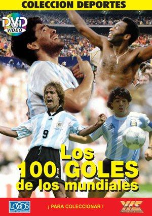 """【受注予約ARG01】ワールドカップ100ゴール DVD """"LOS 100 GOLES DE LOS MUNDIALES"""""""