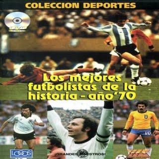 """【受注予約ARG01】1970年代の偉大なサッカー選手達 DVD """"los mejores futbolista de la historia ano 70"""""""