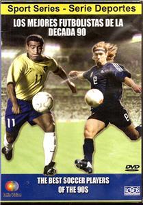 """【受注予約ARG01】1990年代の偉大なサッカー選手達 DVD """"los mejores futbolista de la historia ano 90"""""""
