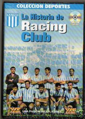 """【受注予約ARG01】ラシンクラブの歴史 DVD """"LA HISTORIA DE RACING CLUB"""""""