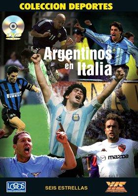"""【受注予約ARG01】イタリアで活躍するアルゼンチン選手達 DVD """"ARGENTINOS EN ITALIA"""""""