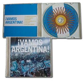 """【SALE40%OFF】アルゼンチン代表 サポーターCD """"VAMOS ARGENTINA!""""【マラドーナ/メッシ/ワールドカップ】ARG0701"""