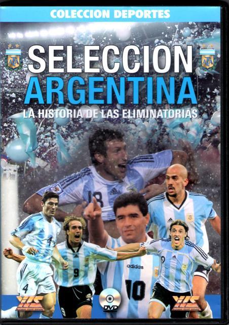【受注予約ARG01】アルゼンチン代表 ワールドカップ予選ヒストリー DVD