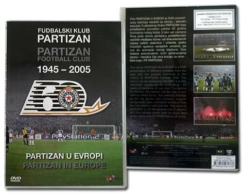 パルチザン・ベオグラード 創立60周年記念DVD 【チャンピオンズリーグ/セルビアリーグ】
