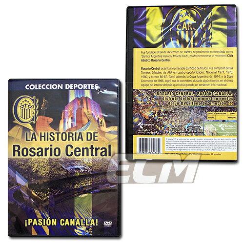 """ロサリオ・セントラル DVD """"La Historia De Rosario Central"""" 【サッカー/アルゼンチンリーグ/CARC】"""