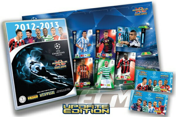 "【SALE50%OFF】UEFAチャンピオンズリーグ 12-13 ""Adrenalyn XL"" UPDATE(追加版) 10パックセット【サッカー/CHAMPIONS LEAGUE/トレカ/カード】PAN01ECM19"