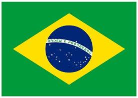 【サポーター必見】ブラジル国旗 フラッグ【サッカー/Jリーグ/応援グッズ/Brasil/Brazil/ワールドカップ/オリンピック】ネコポス対応可能