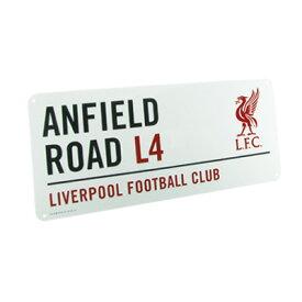 """リバプール ストリートサイン""""ANFIELD ROAD""""【プレミアリーグ/Liverpool/ジェラード/サッカー/インテリア】"""
