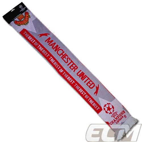 【SALE】マンチェスターユナイテッド チャンピオンズリーグマフラー【Manchester United/サッカー/プレミアリーグ/マンチェスターUTD/スカーフ】 MA07