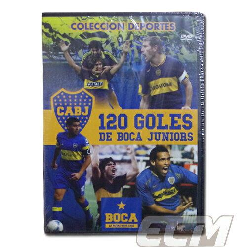 """ボカジュニアーズ DVD """"120 GOLES De Boca Juniors"""" 【サッカー/アルゼンチンリーグ/boca/マラドーナ/リケルメ】"""