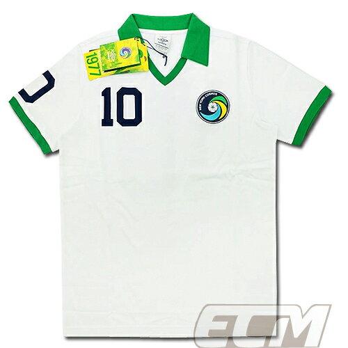 【予約ECM32】【国内未発売】ニューヨーク・コスモス 1977年復刻ホームシャツ 10番ペレ【11-12/MLS/New york cosmos/サッカー/ユニフォーム/PELE】825