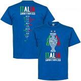 """【予約REI21】RE-TAKEイタリア代表ユーロ2020優勝記念Tシャツ""""ChampionsofEurope2020RoadtoVictory""""【サッカー/欧州選手権/EURO2020/Italy】ネコポス対応可能"""