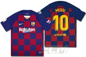 【予約ECM32】FCバルセロナ ホーム 半袖 10番 リオネル・メッシ【19-20/スペインリーグ/Barcelona/ユニフォーム/messi】