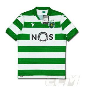 【予約ECM32】【SALE】【国内未発売】スポルティング・リスボン ホーム 半袖【19-20/Sporting Lisbon/サッカー/ポルトガルリーグ/ユニフォーム】825