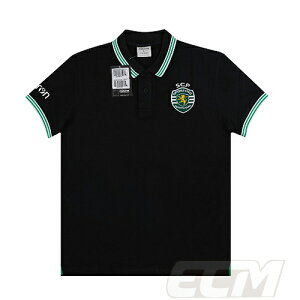 【予約ECM32】【国内未発売】【SALE】スポルティング・リスボン トレーニングポロシャツ ブラック【19-20/ポルトガルリーグ/サッカー/Sporting Lisbon/POLO】330