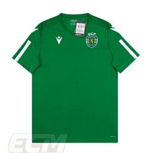 【予約ECM32】【国内未発売】【SALE】スポルティング・リスボン トレーニングシャツ グリーン【19-20/ポルトガルリーグ/サッカー/Sporting Lisbon】330