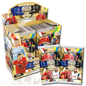 【TOP02】【国内未発売】Topps Match Attax 101 20-21シーズン パック販売【トレーデイングカード/チャンピオンズリーグ/ヨーロッパリーグ/サッカーカード】