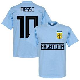 【国内未発売】RE-TAKE アルゼンチン代表 メッシ 10番Tシャツ【サッカー/Argentina/messi/Worldcup/W杯/ワールドカップ】ネコポス対応可能 RET01