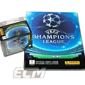 【予約ECM18】PANINI UEFA Champions League 07-08 オフィシャルステッカー BOX&専用アルバムSET【サッカー/チャンピオンズリーグ/コレクション/トレカ】