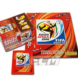PANINI World Cup 2010 南アフリカ大会 オフィシャルステッカー BOX&専用アルバムセット【サッカー/ワールドカップ/コレクション/トレカ/FIFA】ECM18