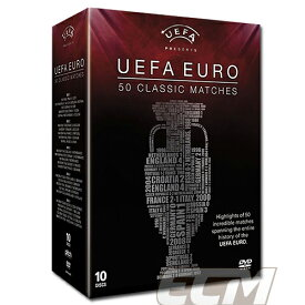 """【予約EUR02】【国内未発売】ユーロ 50クラシックマッチ DVD """"UEFA EURO 50 Classic Matches""""【サッカー/欧州選手権/ワールドカップ】お取り寄せ対応可能PRM01"""