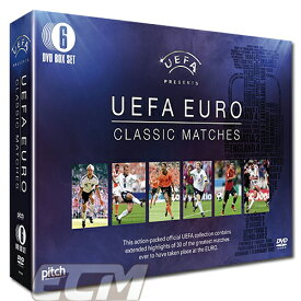 """【国内未発売】ユーロ クラシックマッチ DVD """"UEFA EURO Classic Matches""""【サッカー/欧州選手権/ワールドカップ】お取り寄せ対応可能PRM01"""