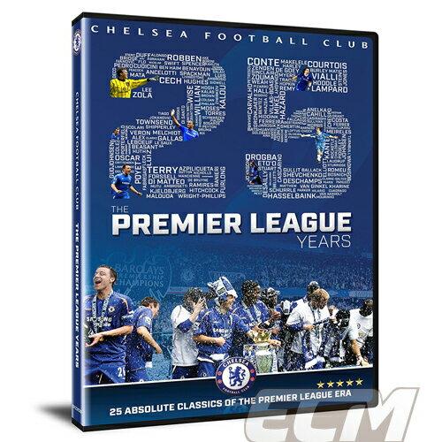 """【予約PRM01】【国内未発売】チェルシー プレミアリーグ25周年 DVD """"Chelsea FC The Premier League Years"""" 【プレミアリーグ/Chelsea/サッカー】"""