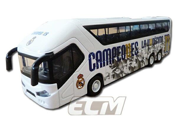 【国内未発売】レアルマドリード バス模型 (1:50) 15-16 チャンピオンズリーグ優勝記念【モデルカー/REAL MADRID/スペインリーグ/Cロナウド/サッカー】SPE03