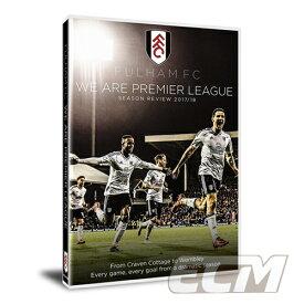 【予約PRM01】【国内未発売】フルハム FC 17-18シーズンレビューDVD 【サッカー/イングランドリーグ/Fulham/プレミアリーグ】