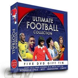 【国内未発売】Ultimate Football Collection DVD【サッカー/ワールドカップ/レジェンド/ペレ/マラドーナ/クライフ】PRM01