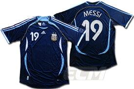 【激レア!】【デッドストック】アルゼンチン代表 アウェイ 半袖 19番 メッシ【サッカー/2006/messi/ユニフォーム/argentina】