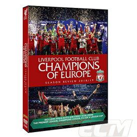 """【国内未発売】PRM01リバプール 18-19シーズン """"Champions of Europe Season Review """" DVD ブルーレイ【クロップ/プレミアリーグ/Liverpool/サッカー/サラー】PRM01"""