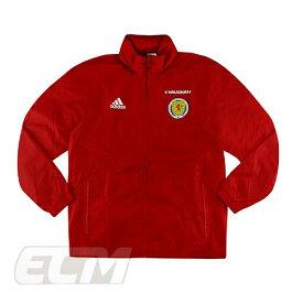【予約SCO01】【国内未発売】【SALE】スコットランド代表 選手仕様 トレーニングレインジャケット レッド【サッカー/17-18/トレーニング/Scotland】330 ECM32