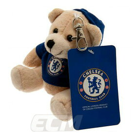 【国内未発売】チェルシー オフィシャルグッズ Bag Buddy Bear キーリング【サッカー/Chelsea/プレミアリーグ/ベア/キーホルダー】ECM25