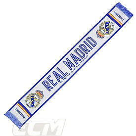 【国内未発売】レアルマドリード オフィシャルグッズ マフラー WT【スペインリーグ/サッカー/Real Madrid/スカーフ】ECM25