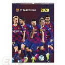【国内未発売】ECM10FCバルセロナ 2020 オフィシャル A3 壁掛けカレンダー【リーガエスパニョーラ/Barcelona/メッシ/…